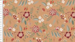 French terry brossé digital olly fleurs 4748