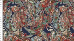 French Terry digital paisley 4755